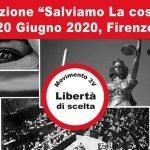 """La manifestazione """"Salviamo la Costituzione"""" sarà il 20 giugno 2020 a Firenze. Ecco i nomi dei relatori"""