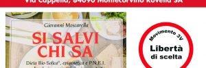 """""""Si salvi chi sa"""". Presentazione del nuovo libro del Dott. Moscarella e del Movimento 3V in Campania"""