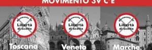 M3V c'è! Pronti alle elezioni in Veneto, Toscana e Marche