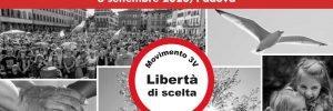 """Pronti alla Manifestazione """"LIBERTÀ"""", il 6 settembre 2020 a Padova. Ecco i nomi dei relatori"""