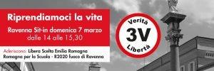 Sit-in a Ravenna di Riprendiamoci la Vita