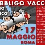 No obbligo vaccinale - Roma Movimento 3V
