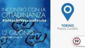 a Torino incontro con la cittadinanza di 3V